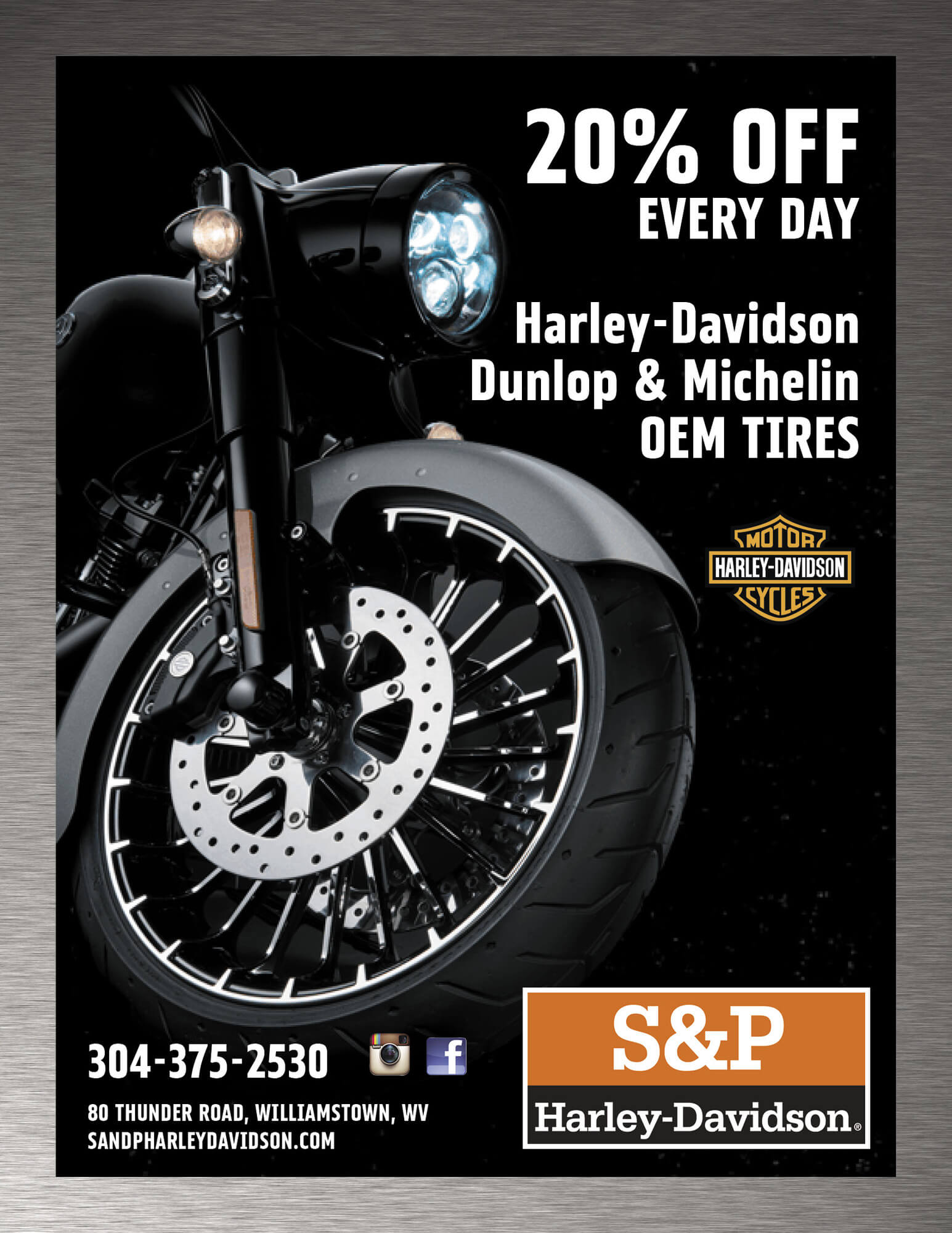 20% OFF Dunlop and Michelin OEM Tires