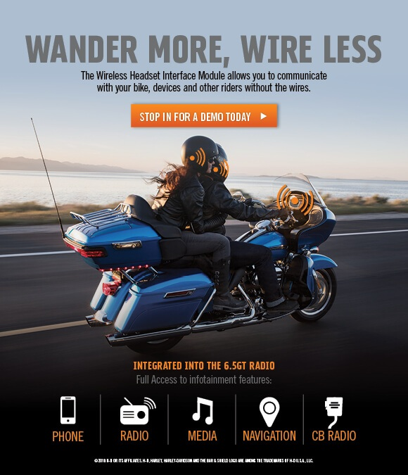 Wireless Headset Interface Module's available at S&P Harley-Davidson