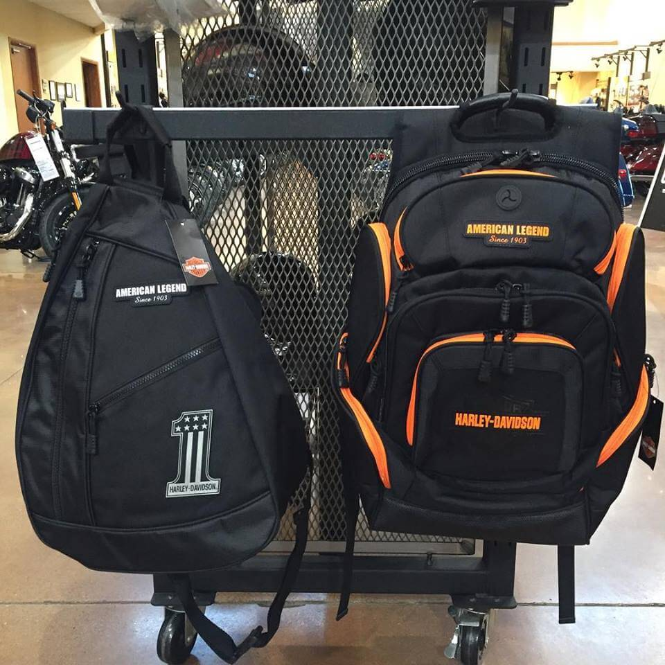 Backpacks and Accessories For Sale at S&P Harley-Davidson