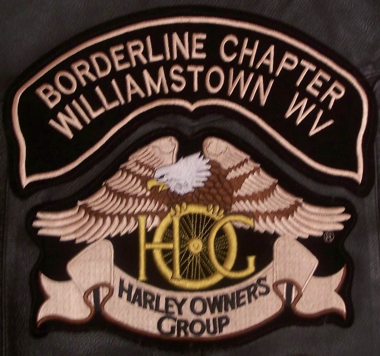 Borderline H.O.G. Chapter Vest