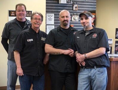 S&P Harley-Davidson's Service Department