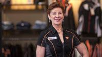 Photo of Patsy Hardy at S&P Harley-Davidson