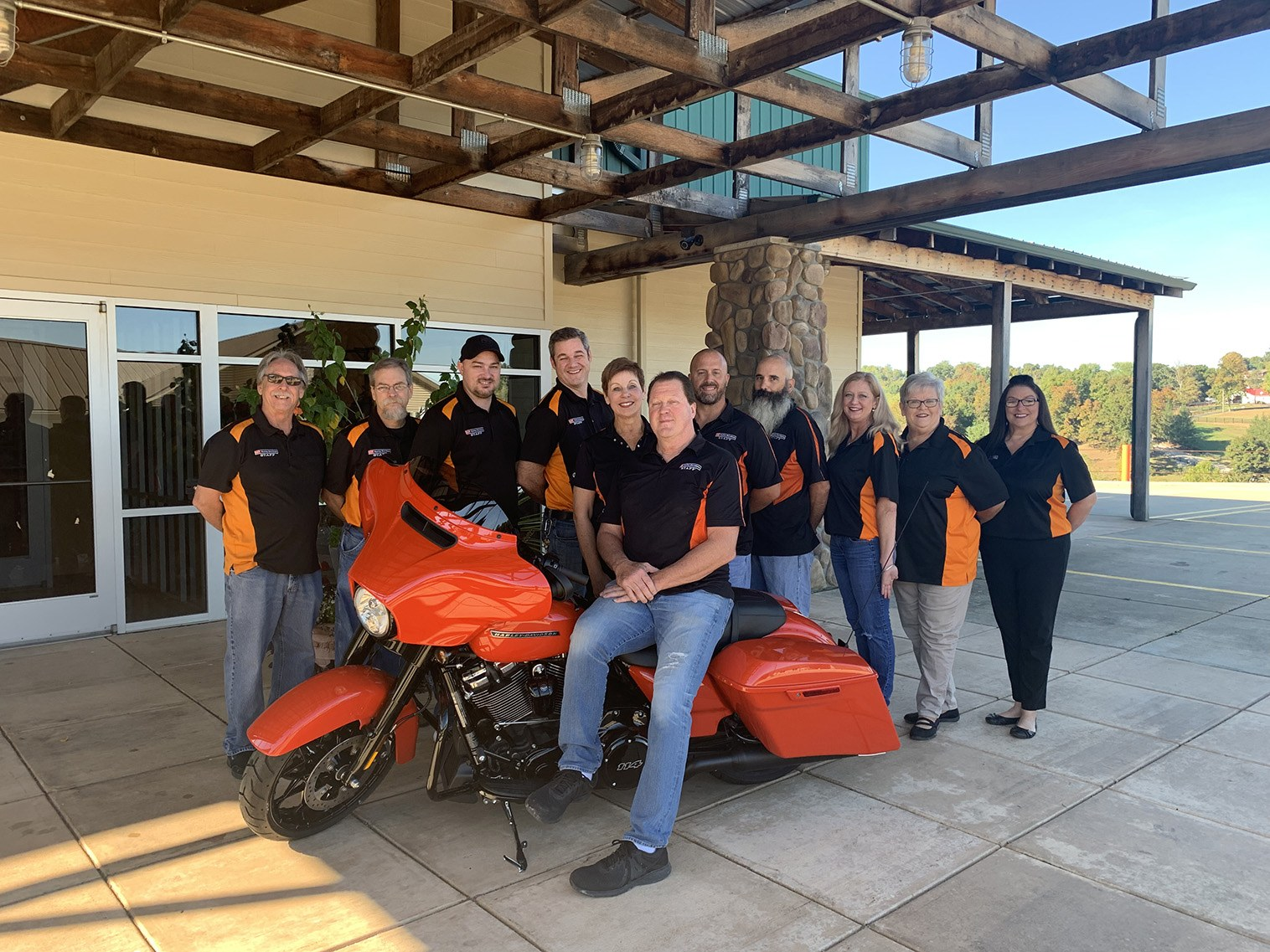 Photo of the S&P Harley-Davidson Staff