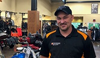 Photo of Scott Thomas at S and P Harley-Davidson